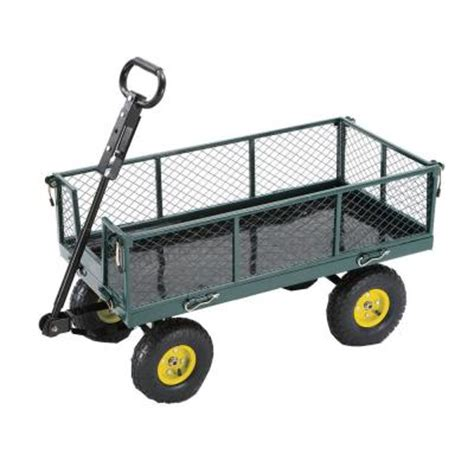 tricam 700 lb steel garden yard cart discontinued sc100d