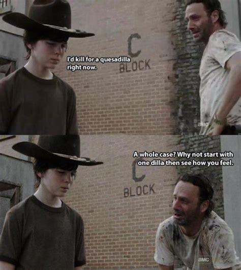 Rick Meme Walking Dead - the walking dead 23 of the funniest rick carl dad