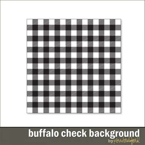 Buffalo Check Background Products Kerri Bradford Studio