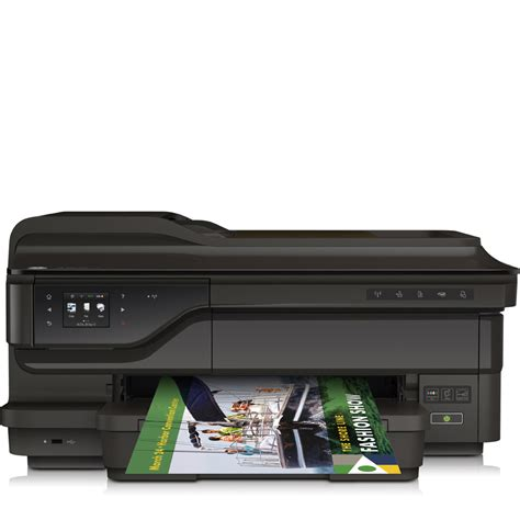Printer Hp Officejet 7610 A3 hp officejet 7610 a3 colour wide format inkjet multifunction printer