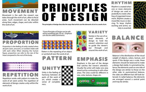 freebie elements and principles of art and design matrix tpt principles of design ms massadas class