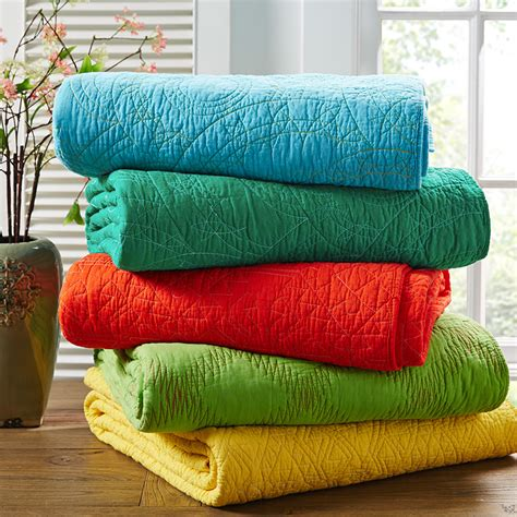Handmade Throws - 2015 summer quilt blanket 100 cotton healthy bedding