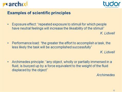 exle of scientific architecture principles the cornerstones of enterprise