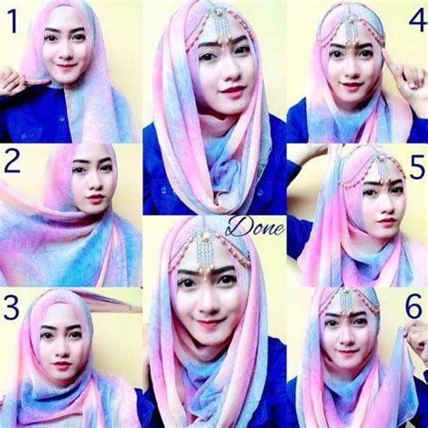 tutorial kerudung pesta youtube tutorial hijab pesta simple segi empat modern terbaru 2016