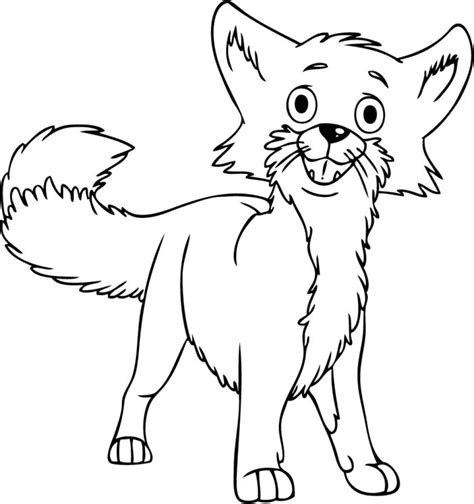 Coloring Page Fox by Fox Coloring Pages Free Printable
