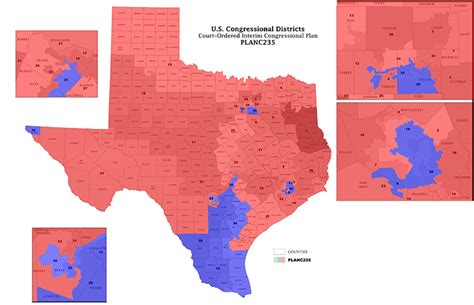 texas legislative districts map texas congress district map ftw the baylor lariat