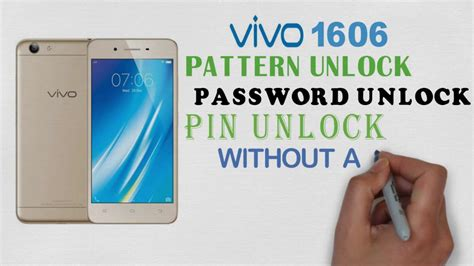 pattern unlock not working vivo 1606 pattern unlock password unlock pin unlock