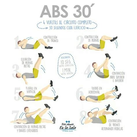 tabla abdominales en casa tabla abdominales 30 minutos just beauty pinte