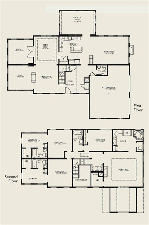 elegant floor plans 4 bedroom 2 storey house plans elegant floor plan 2 story