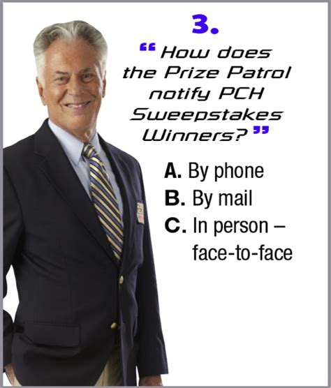 How Do You Know If You Won Pch - how well do you know our prize patrol take the quiz pch blog