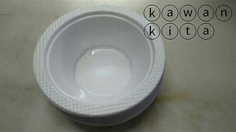 Mangkok Plastik 7 50 Pcs jual mangkok plastik putih disposible isi 50 untuk pesta