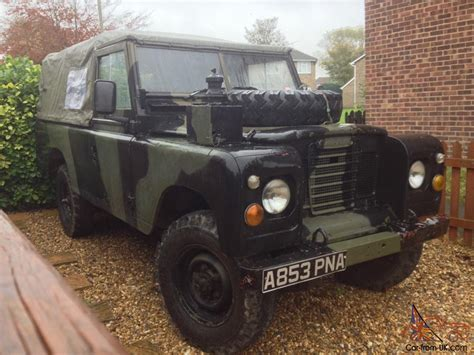 military land rover land rover series 3 109 ex military