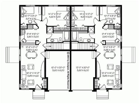 duplex bungalow plans bungalow townhouses granny flats and small houses