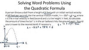 solving quadratic equations problems we can do your