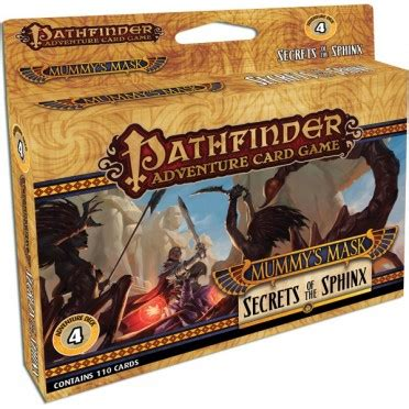 pathfinder adventure card icon templates pathfinder adventure card mummy s mask 4 secrets