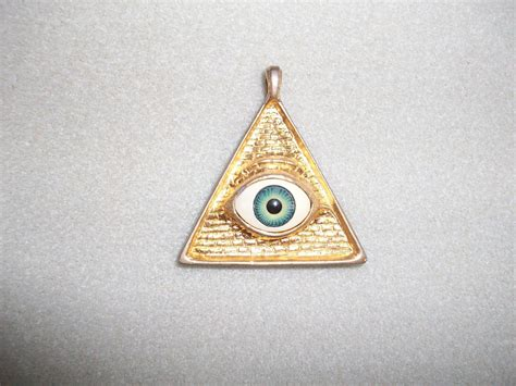 eye in pyramid pendant collectors weekly
