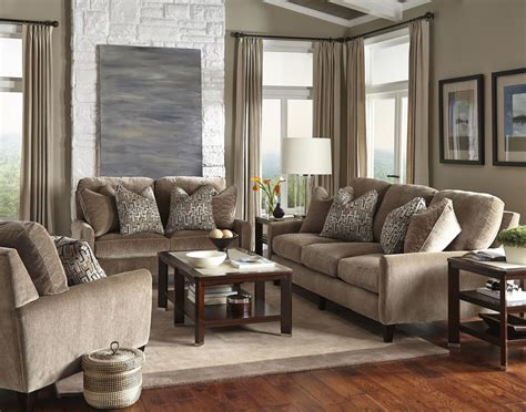 taupe living room furniture mulholland taupe living room set from jackson