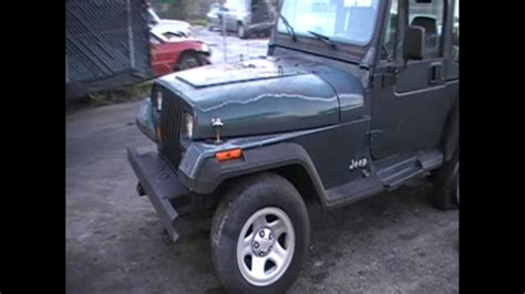 Jeep Yj Parts For Sale Rear Damage 1994 Jeep Wrangler Yj Parts For Sale