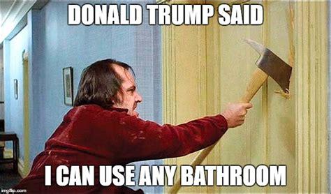 Meme Bathroom - shining axe imgflip
