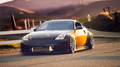 slammed cars iphone wallpaper nissan 350z wallpaper wallpapersafari
