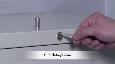 steelcase file cabinet lock kit lock core install on a steelcase file cabinet