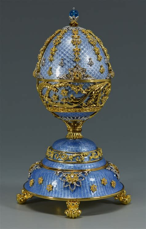 lot 795 franklin mint faberge egg