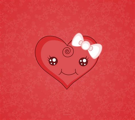 wallpaper cute heart cute heart background wallpapersafari