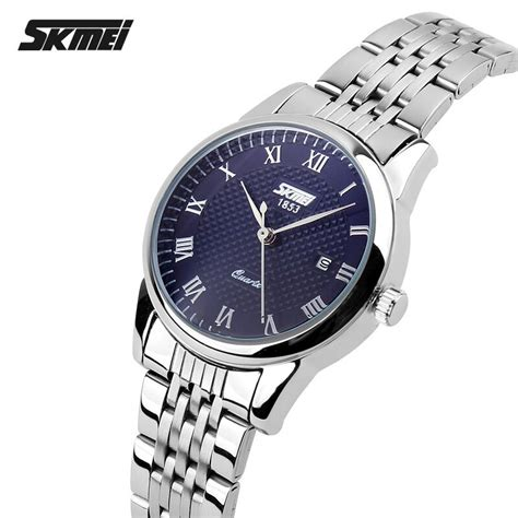Jam Tangan Wanita Krs1076 Blue skmei jam tangan analog wanita 9058cs blue