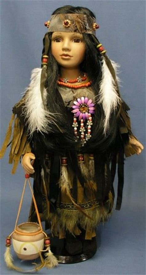 3 foot porcelain doll 17 best images about american indian dolls on