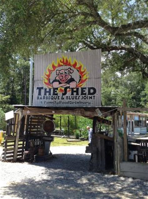 The Shed Bbq Joint by Picture Of The Shed Barbeque Blues Joint