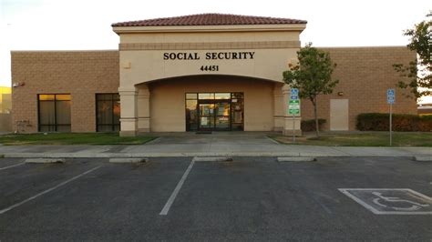 Social Security Office Lancaster California by Ssa Building 44451 20th St West Lancaster Ca 93534