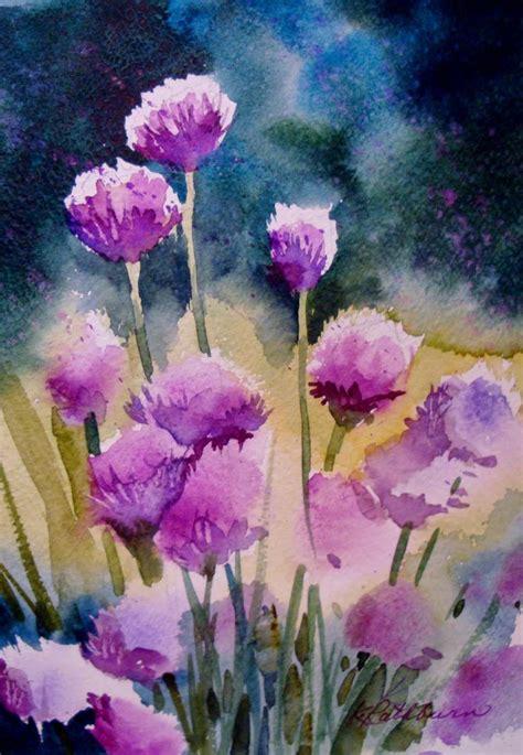 watercolor  kathy los rathburn   love  art
