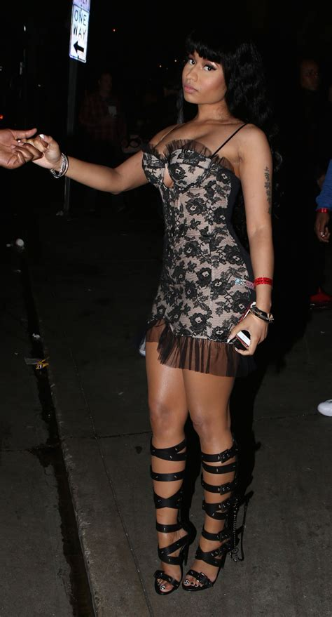 nicki minaj house nicki minaj style arriving at the house of blues february 2015