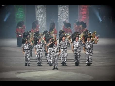 military tattoo quebec canada performance drill military tattoo della fanfara