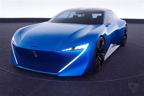 peugeot concept car peugeot s instinct concept car is its vision of an
