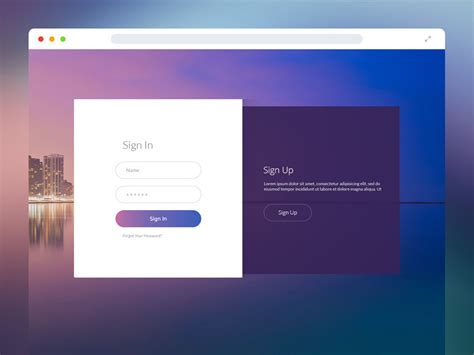 design inspiration login page form design inspiration muzli design inspiration