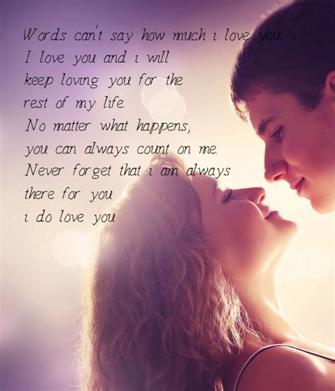 If I Cant Will You Always By My Side words can t say how much i you i you and i will