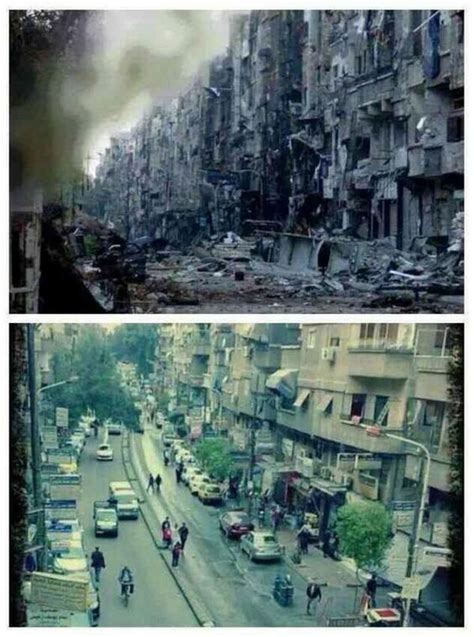 syria before and after syria before and after google 搜索 syria pinterest