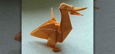 Origami Pelican - how to origami a pelican 171 origami wonderhowto