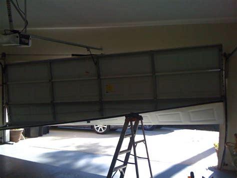 Garage Door Replacement Track Houston Track Garage Door