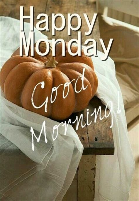happy monday good morning pumpkins pictures   images  facebook tumblr pinterest