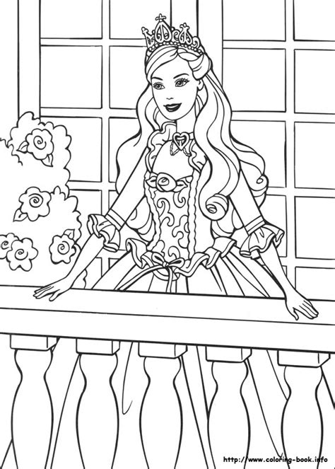 coloring pages barbie princess barbie as the princess and the pauper coloring picture
