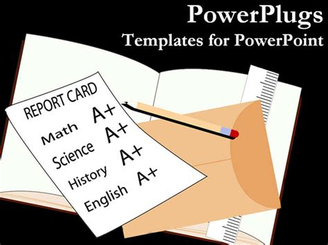 Powerpoint Report Card Template by Best Reportcard Powerpoint Template A School Report Card
