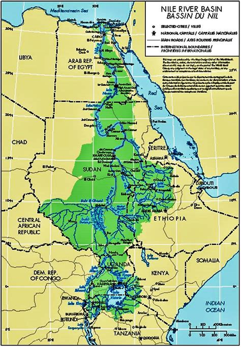 nile river on a map top 12 rivers in the world listsurge