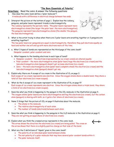 worksheet electronegativity worksheet answers carlos