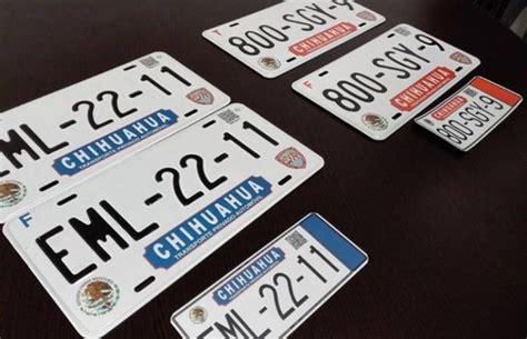 requisitos para placas nuevas chihuahua presenta gobierno nuevas placas vehiculares la opci 243 n de