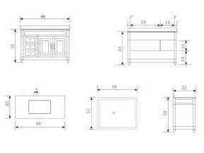 Vanity Measurements Exceptional Bathroom Vanity Dimensions 5 48 Hudson Single
