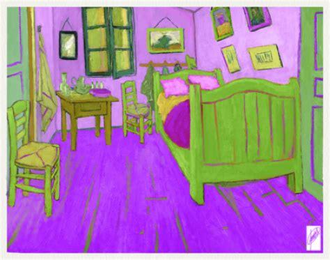 Gogh Bedroom Purple Conor Bezane Official Site Exhibit Review A Glimpse