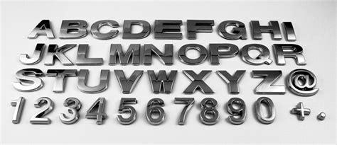 Wetterfeste Aufkleber Buchstaben by Aufkleber24 De Verchromte 3d Buchstaben Selbstklebend
