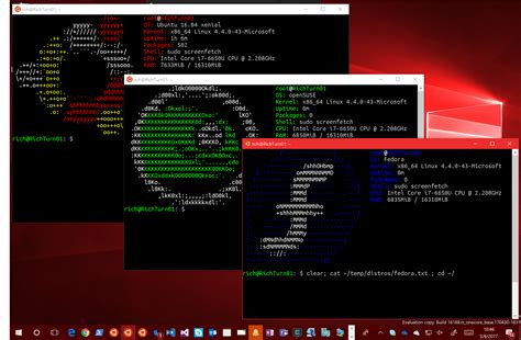 nas os linux install ubuntu fedora and suse as windows apps
